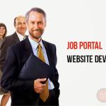 Job portal website development