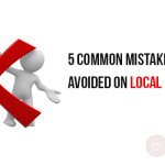 5 Common mistakes to be avoided on local websites.
