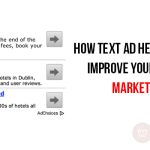 How text ads help you to improve your results in online marketing?