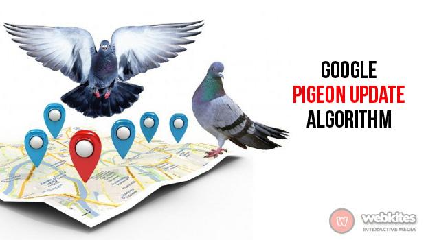 GOOGLE PIGEON UPDATE ALGORITHM