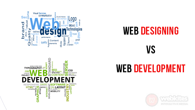 Web designing vs Web development