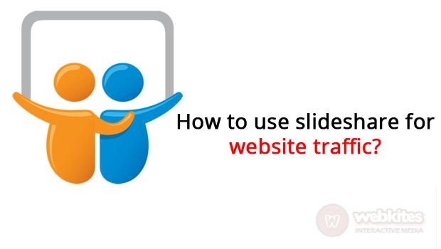 How to use Slideshare for website traffic?
