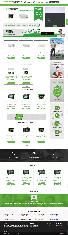 Dynamic websites for amaronbatteryinverterchennai